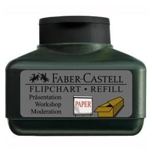 REFILL MARKER FLIPCHART GRIP NEGRU FABER-CASTELL