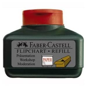 REFILL MARKER FLIPCHART GRIP ROSU FABER-CASTELL