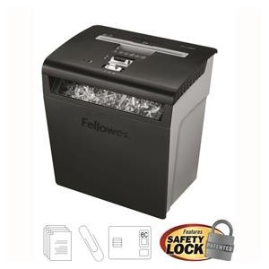 Distrugator documente 8 coli Cross-Cut Fellowes P48C