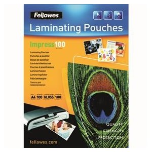 Fellowes Folie laminare Fellowes, A4, 80mic, 100/set (FE5306114)