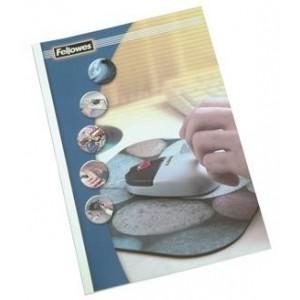 COPERTI PLASTIC A4 200 MICRONI ROSII 100/TOP FELLOWES
