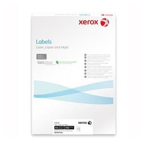 Etichete Autoadezive Xerox 40/A4 52.5*29.7MM Colturi DREPTE 100/TOP
