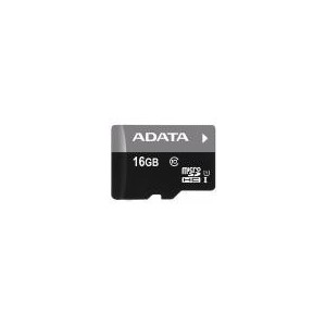 MICRO SD A-DATA SDHC PREMIER 16 GB CLASS 10 + ADAPTOR SD
