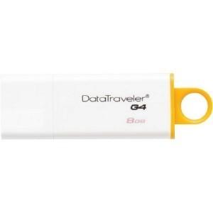 STICK USB KINGSTON DATATRAVELER DTIG4 8 GB USB 3.0 WHITE/YELLOW