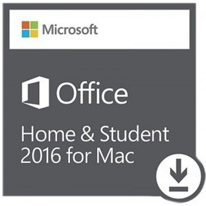 Microsoft Licenta Electronica Office Home and Student 2016 for MAC, All languages, FPP