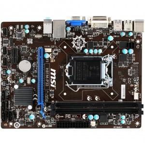 PLACA DE BAZA MSI SKT LGA1150 H81M-P33 INTEL H81 2*DDR3