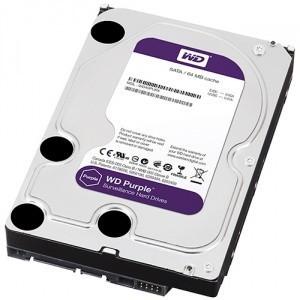 HARD DISK WESTERN DIGITAL 2TB PURPLE SATA 6GB/S INTELLIPOWER 64MB