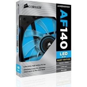 COOLER CORSAIR AF140 LED BLUE QUIET EDITION 140X25MM