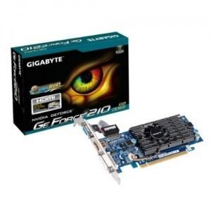 PLACA VIDEO GIGABYTE NVIDIA GEFORCE 210 GPU 1GB DDR3 64BIT