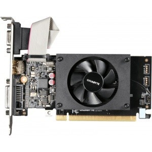 PLACA VIDEO GIGABYTE NVIDIA N710D3-1GL GT710 PCI-E 1GB DDR3