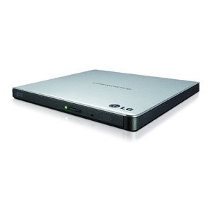 DVD WRITER LG 8X GP57ES40 EXTERN USB 2.0 SILM RETAIL SILVER