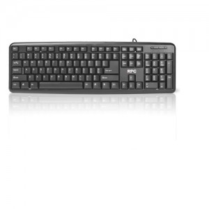 TASTATURA RPC PHKB-P615US-AC02A PS/2 BLACK