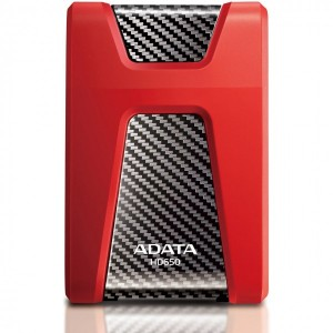 HARD DISK A-DATA EXTERN DASHDRIVE DURABLE HD650 1TB 3.0 RED