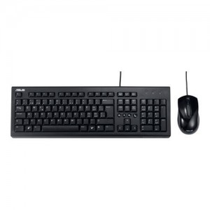 KIT ASUS U2000 TASTATURA + MOUSE USB BLACK