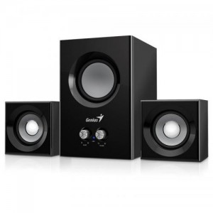 BOXE GENIUS 2.1 SW-2.1 375 12W BLACK 31731066100