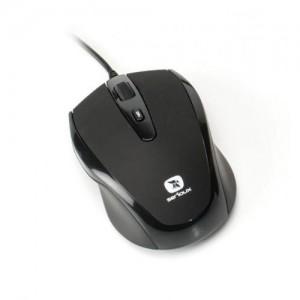 MOUSE SERIOUX PMO3300-BK USB PASTEL 3300 1000/1600DPI BLACK