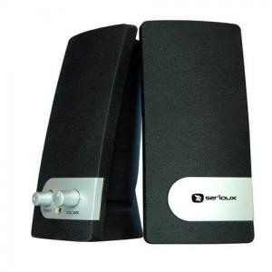 BOXE SERIOUX 2.0 POP 251B 200W PMPO BLACK & SILVER