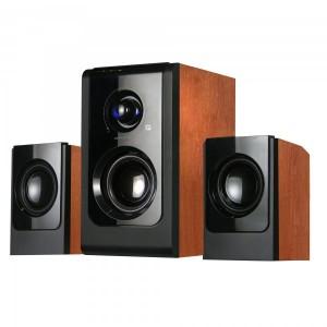 BOXE SERIOUX 2.1 SOUNDBOOST HT2100C WOOD 16W RMS