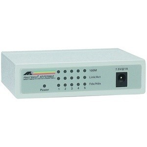 SWITCH ALLIED TELESIS AT-FS705LE-50 5 PORT 10/100MBPS UNMANAGED