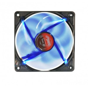 CoolerCarcasa Spire  Bluestar 120  120x120x25mm Blue LED Sleeve  600-1800rpm  PWM