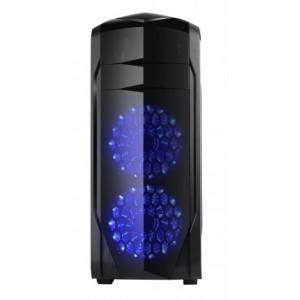 Carcasa Spire X2 Full Tower SPITZER 20  No PSU  ATX/mATX vent: 2 x 120mm  1 x USB2.0  2 x USB3.0 sunet AC'97  negru