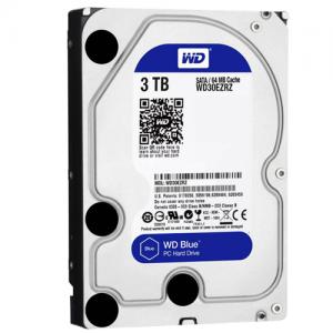 HDD intern WD  3.5 inch   3TB  BLUE  SATA3  IntelliSeek (5400rpm)   64MB  advanvced format (AF)