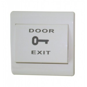 Buton exit plastic dimensiuni 86L*86W*20T(mm) (ACC-PUSH-EX802)