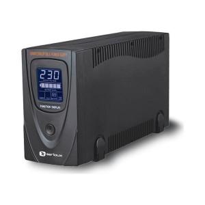 UPS Serioux ProtectIT 650LS, 650VA, >8min back-up (half load), LCD screen, negru
