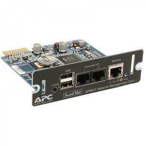 Card management in retea APC cu monitorizare mediu