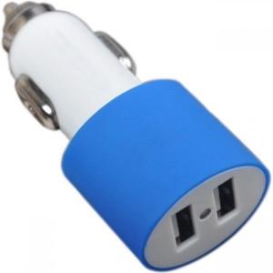 Incarcator auto Serioux  universal  2 porturi USB  putere totala 4.2A ( 2 x 2.1A )  albastru