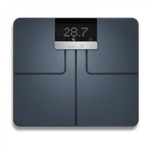 Cantar Garmin Index Smart Scale, masoara greutatea (B, KG, STLB), IMC, negru