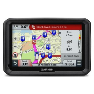 GPS Garmin 5.0 inch  , DEZL 570LMT, 480 x 272, Voice Activated Navigation,