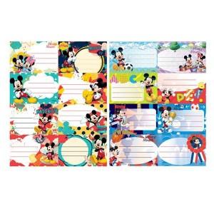 Etichete scolare 40/set Mickey