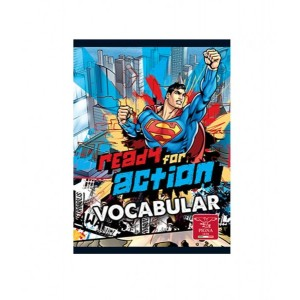 Caiet Capsat 12x17cm 24 Vocabular Superman