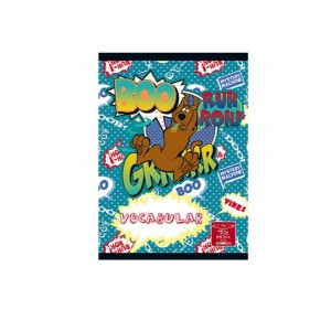 Caiet Capsat 12x17cm 24 Vocabular Scooby Doo