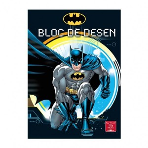 Bloc desen A4 16 160g Premium Batman