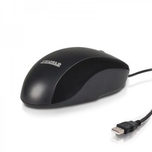 Mouse optic 4World, USB, BASIC2, 1200dpi, negru