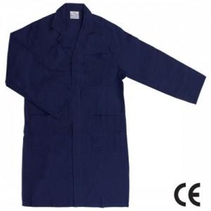 Imbracaminte de Protectie de Vara: Halat din BBC 100% bleumarin HARRY