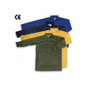 Imbracaminte de Protectie Impermeabila: Scurta de ploaie, din poliester peliculizat AACHEN (-G, -B)