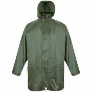 Imbracaminte de Protectie Impermeabila: Scurta de ploaie, din poliester peliculizat DORTMUND (-G,-B,-K) lungime 90 cm