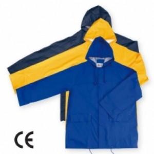 Imbracaminte de Protectie Impermeabila: Scurta de ploaie, din PU HAMBURG (-B, -G, -AE)
