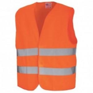 Imbracaminte de Protectie Reflectorizanta: Vesta de semnalizare (portocalie) REFLEX