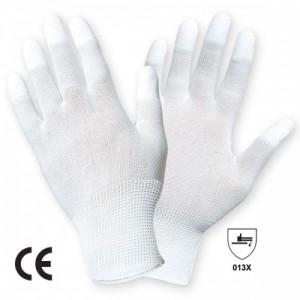 Manusi de Protectie Impregnate tricotate din nailon cu un strat subtire din poliuretan pe varful degetelor BEST