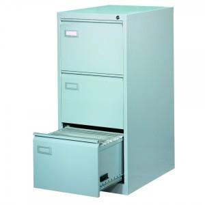 Clasificator metalic 3 sertare 620 x 460 x 1020 mm gri