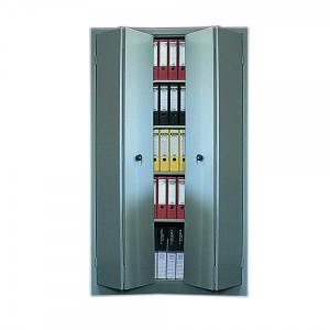 Dulap metalic usi pliabile 1200 x 420 x 1950 mm gri