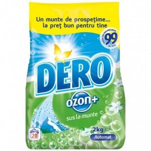 Dero Ozon Detergent automat 2 kg- Parfum Divers