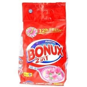 Bonux Detergent Automat 4 kg- Parfum Divers