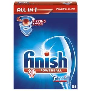 Finish Calgonit pastile 56 buc/set