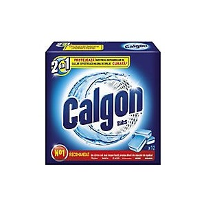 Finish Calgon tablete 12 buc/set