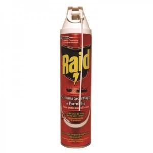 Insecticid Raid spuma 400 ml - Parfum Divers